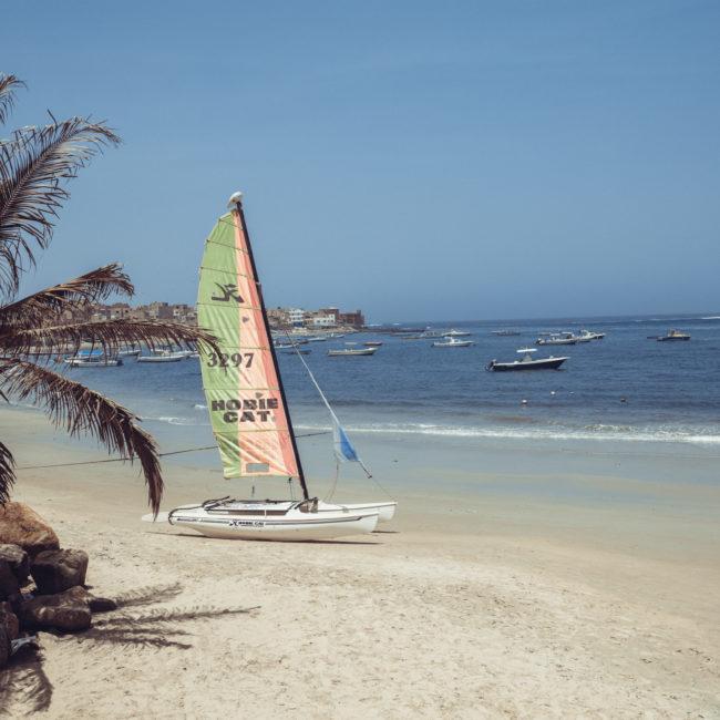 Plage Diarama Ngor, Dakar